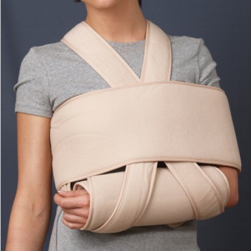 Повязка для руки при переломе своими руками
