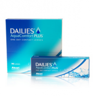 Ciba Vision Dailies AquaComfort Plus (90 шт) – фото